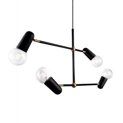 Lámpara colgante acero black negro