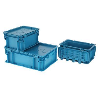 Set 3 cajas modulares 23 lts 40x30x30 cm azul