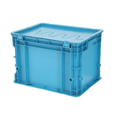 Caja modular plástico 24 lts 30x30x40 cm azul