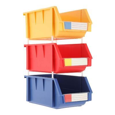 Set 3 cajas organizadoras 10 lts 20x34x15 cm