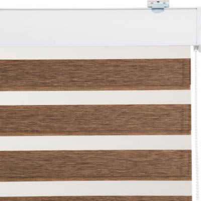 Cortina Duo Screen Enrollable Con Instalación Tostado A La Medida Ancho Entre 60 a 105 Cm Alto 131 a 145 CM