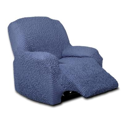 Funda sofá 1 cuerpo berger azul