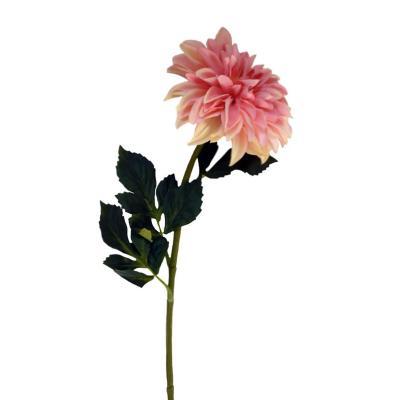 Flor artificial dalia 77 cm rosada