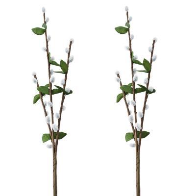 Pack 2 varas willow  84 cm blanco