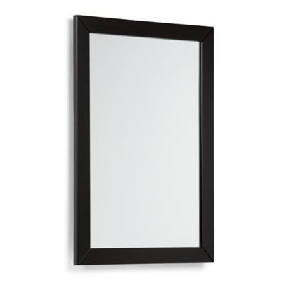 Espejo para baño 55,8x76,2 negro