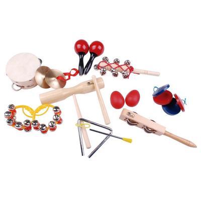 Set 14 instrumentos musicales infantil percusión