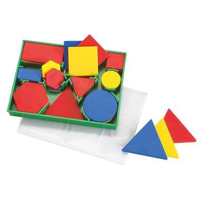 Juego didáctico 60 figuras geométricas clasificar