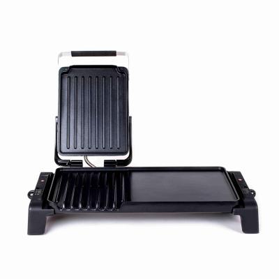 Parrilla eléctrica panini ba-9800 3 en 1