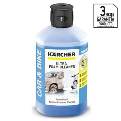 Shampoo de espuma activa para auto 1000ml, 3 en 1