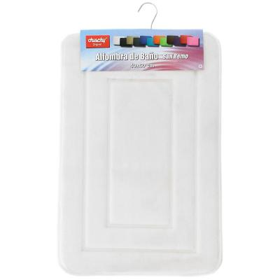 Piso para baño 12mm rectangular 40x60 blanco
