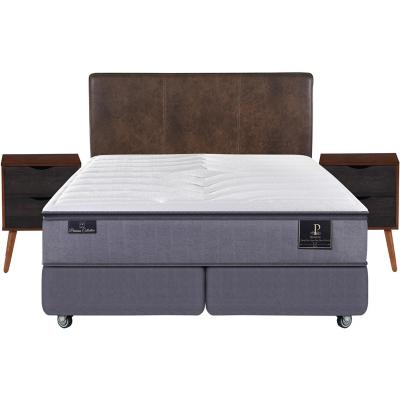Box spring premium king + muebles