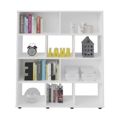 Librero estante booker blanco 91x25x109 cm