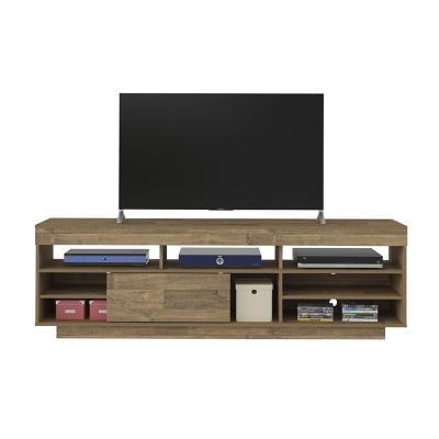 "Rack tv 60"" travis café 180x41,5x 56,5 cm"