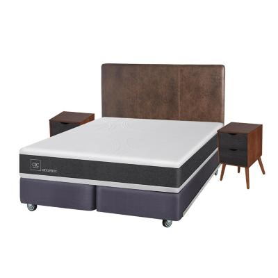 Box spring new ortopedic king + muebles