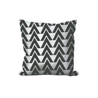 Cojín geometrico - negro 45x45 cm