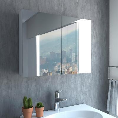 Gabinete de baño 1 cajón blanco