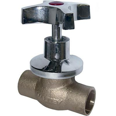 Llave paso camp cruz SO 1/2""