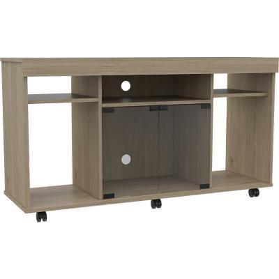 Mesa para TV 121x67x40 cm rovere