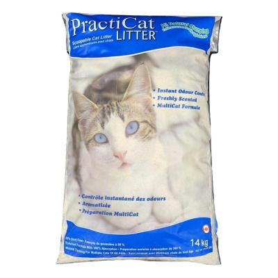 Arena sanitaria para gatos bolsa 14 kilos