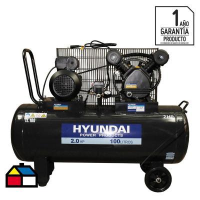 Compresor de aire 2 HP 100 l