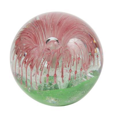 Esfera de vidrio decorativa 10 cm