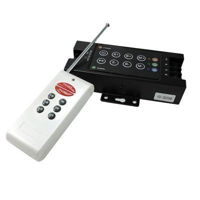 Controladora manual y control remoto rf 12-24v