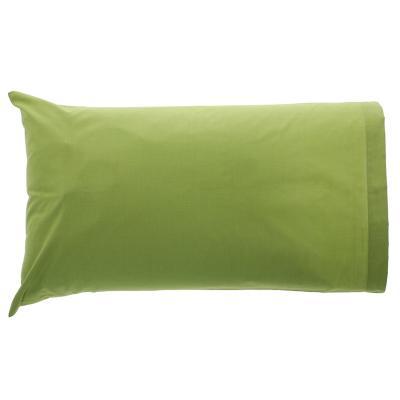 Set fundas de almohadas pistacho 144 hilos 50x70 cm