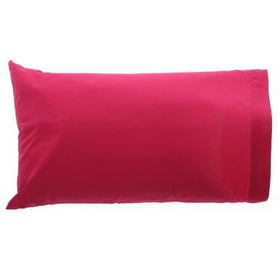 Set fundas de almohadas fucsia 144 hilos 50x70 cm