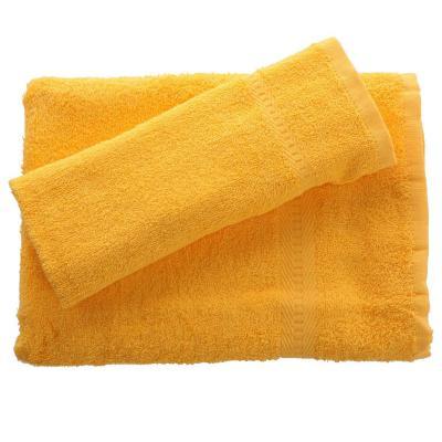Juego de toalla baño y mano 380 gr 2 unidades Amarrillo