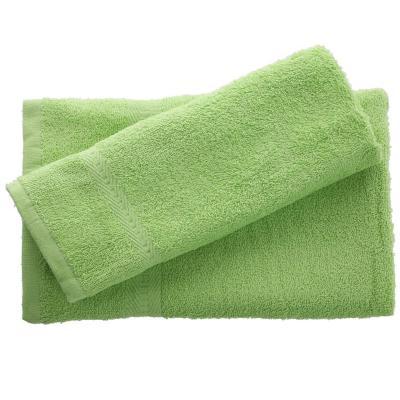 Juego de toalla baño y mano 380 gr 2 unidades Verde claro
