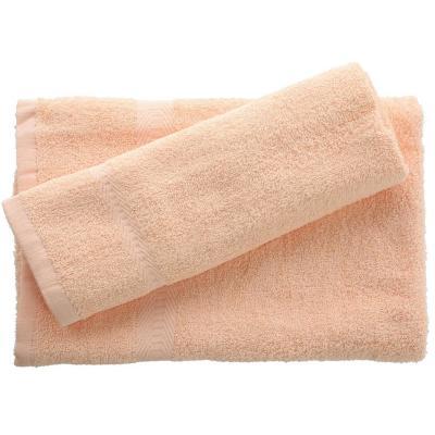 Juego de toalla baño y mano 380 gr 2 unidades Crema