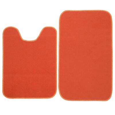 Set baño 2 piezas naranjo
