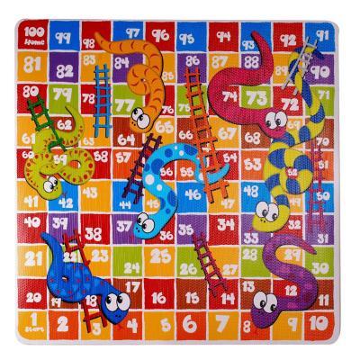 Alfombra goma eva entretenida 81x81 cn multicolor