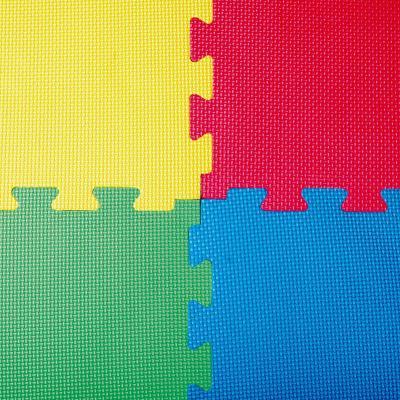 Alfombra goma eva 1 pieza 100x100 cm azul