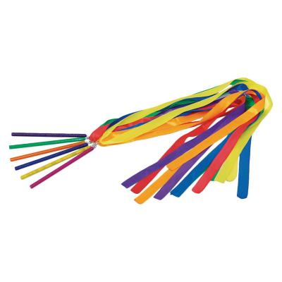 6 cinta para gimnasia rítmica multicolor