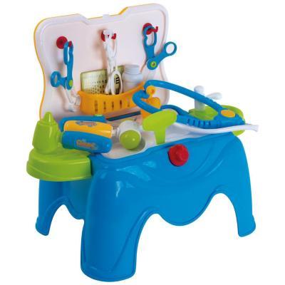 Set asiento y accesorios doctor con luz 18 piezas