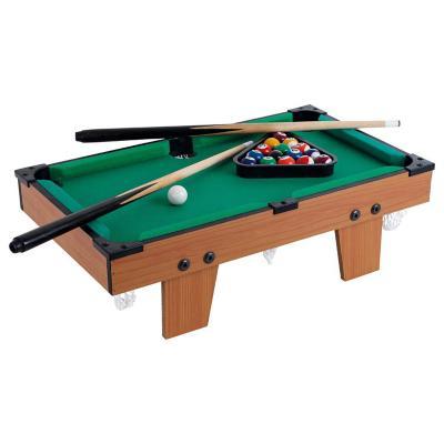 Mini Mesa de pool madera 49,5x28,5 cm + accesorios