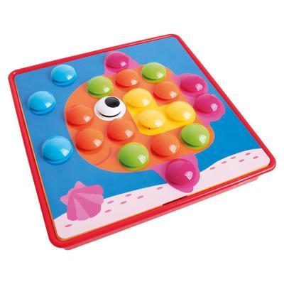Juego infantil puzzle botón multicolor