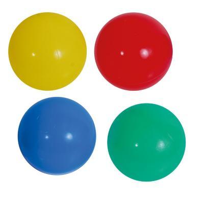 Set 100 pelotas plásticas 6 cm multicolor