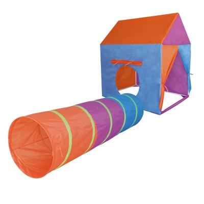 Carpa con túnel plegable 95x72x102 cm