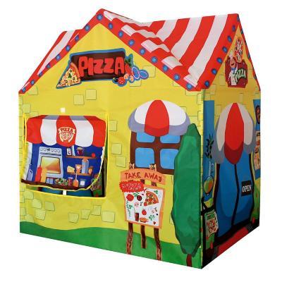 Carpa casa pizzería 95x72x102 cm