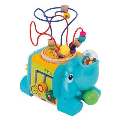 Centro actividad infantil elefante celeste