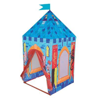 Carpa castillo rey 75x75x160 cm celeste