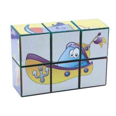 Puzzle cubos magnético 6 piezas