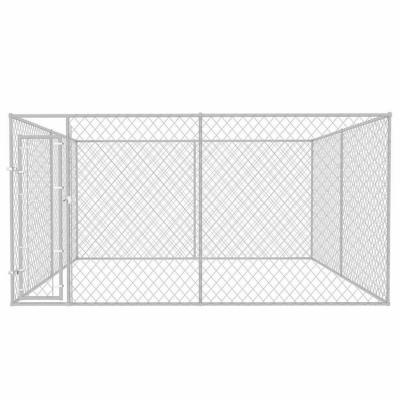 Canil modular para perros sin techo 200 cm