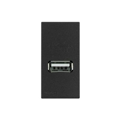 Cargador USB 1a 5v s44 carbón
