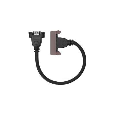 Conector HDMI cordón 25cm s44 piedra