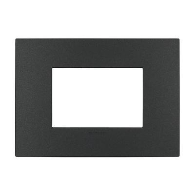 Placa triple  44 carbón