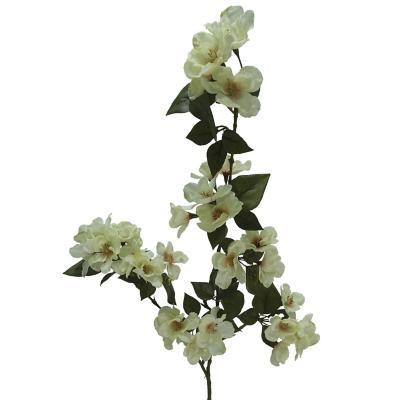 Vara Flor Durazno Any 90 cm crema