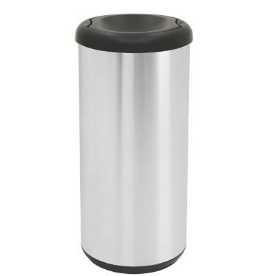 Basurero reciclaje 40 litros negro